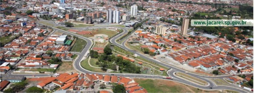 Foto aérea Jacareí