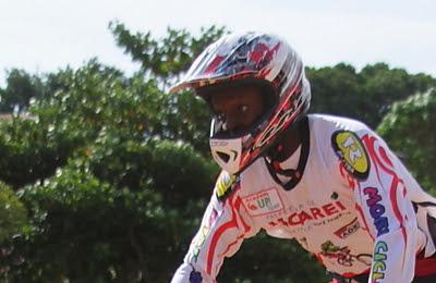 O técnico e piloto do Jacareí Bicicross Clube, Pedro José de Andrade Crédito: Valter Pereira/PMJ