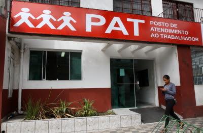 Fachada do PAT (Posto de Atendimento ao Trabalhador) de JacareíCrédito: Alex Brito/PMJ